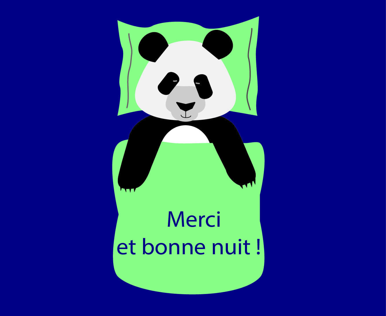 Image Bonne Nuit merci et bonne nuit ! - fondation sommeil - troubles du sommeil